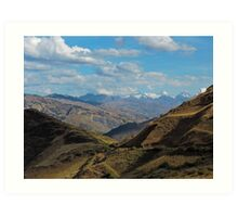 Beautiful mountains2 Peru Art Print