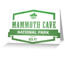 Mammoth Cave National Park, Kentucky Greeting Card