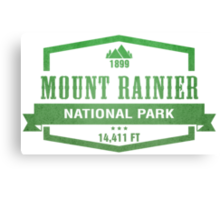 Mount Rainier National Park, Washington Canvas Print