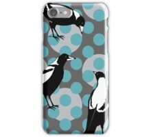 Merry Magpies  iPhone Case/Skin