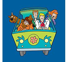 Scooby and company Photographic Print