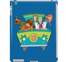 Scooby and company iPad Case/Skin