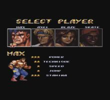Streets of Rage 2 – Select Max by PonchTheOwl