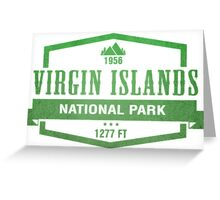Virgin Islands National Park, Virgin Islands Greeting Card
