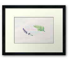 Be the Leslie Knope Framed Print