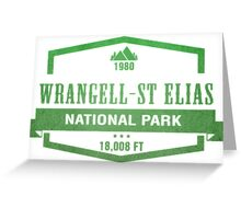 Wrangell–St. Elias National Park, Alaska Greeting Card