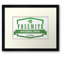Yosemite National Park, California Framed Print