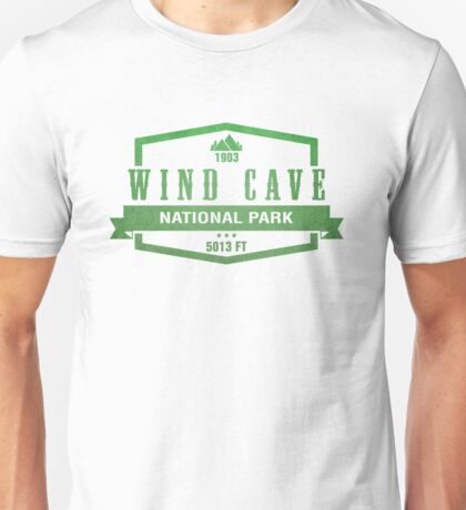 Wind Cave National Park, South Dakota Unisex T-Shirt