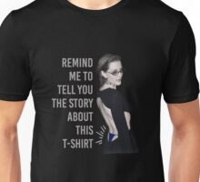 Gillian Anderson: Thong Series Unisex T-Shirt
