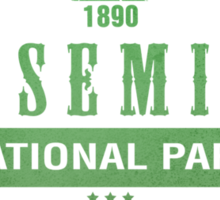 Yosemite National Park, California Sticker