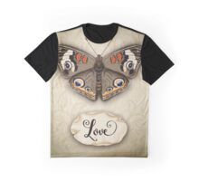 Love Butterfly Graphic T-Shirt