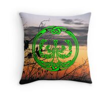 Celtic Tree of Life No4 - pillow & tote Throw Pillow