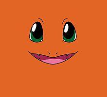 Charmander Face Pokemon by Dman329