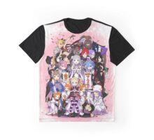 Re:Zero kara Hajimeru Isekai Seikatsu Graphic T-Shirt
