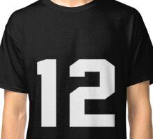 Team Jersey 12 T-shirt / Football, Soccer, Baseball Classic T-Shirt