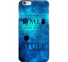 Wibbly Wobbly Timey Wimey Space iPhone Case/Skin