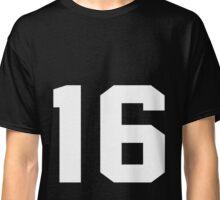 Team Jersey 16 T-shirt / Football, Soccer, Baseball Classic T-Shirt