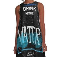 drink more water A-Line Dress