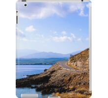 Typical Seascape road in Crete island, Greece iPad Case/Skin