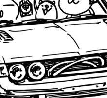 Crazy Car Art 0005 Sticker
