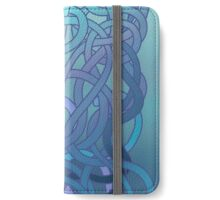 The Blue Tangle iPhone Wallet/Case/Skin