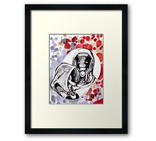The Engineer and The Soldier Framed Print