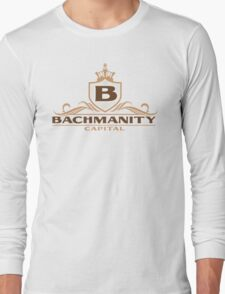 Bachmanity Capital Long Sleeve T-Shirt