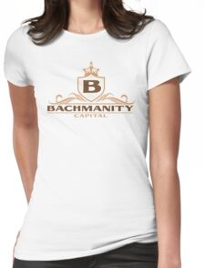 Bachmanity Capital Womens Fitted T-Shirt