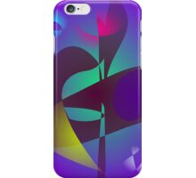 Vampire Squid Abstract Art iPhone Case/Skin