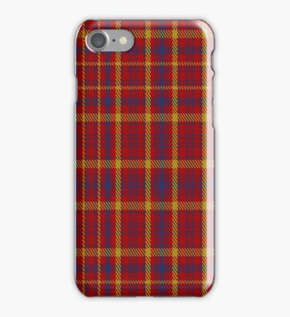 01443 Culloden Unidentified Plaid  iPhone Case/Skin