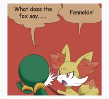 What does the fox say... by Winick-lim