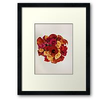 Calla Lily Bridal Bouquet Framed Print
