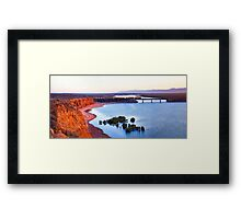Redbanks - Morning Train Framed Print