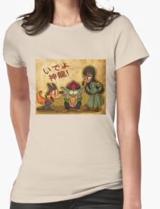 Pilaf and Corps Womens Fitted T-Shirt