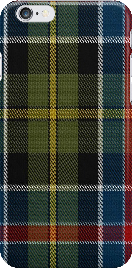 01437 Culloden 1746 Original District Tartan by Detnecs2013