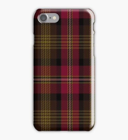 01436 Crutherland Fashion Tartan  iPhone Case/Skin
