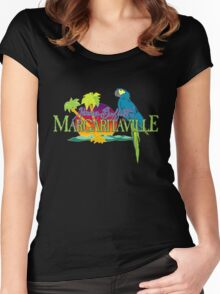 jimmy buffet margaritaville 1977 album cover Women's Fitted Scoop T-Shirt