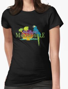 jimmy buffet margaritaville 1977 album cover Womens Fitted T-Shirt