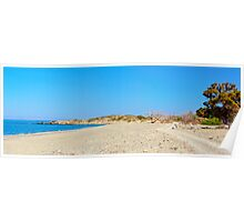Amazing Beach of Chrissi Island, near Crete, Greece Poster