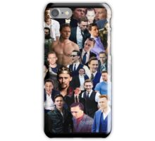 Tom Hiddleston Collage  iPhone Case/Skin