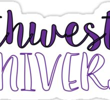 Northwestern University Sticker