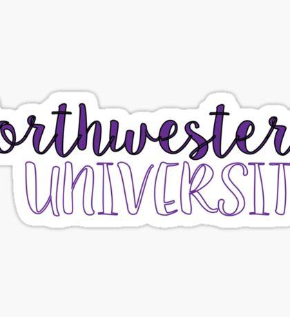 Northwestern University Sticker