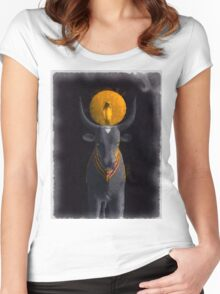 Gods of Egypt - Apis Women's Fitted Scoop T-Shirt