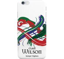 Clan Wilson  iPhone Case/Skin