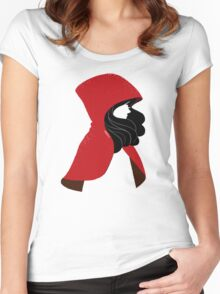 Red Women's Fitted Scoop T-Shirt