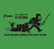 Game of Thrones Wall / Monopoly by Dman329