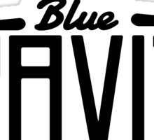 Blue Gravity Clothing Sticker