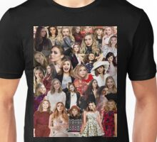 Elizabeth Olsen Collage  Unisex T-Shirt
