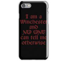 WINCHESTER iPhone Case/Skin