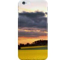 Canola Sunset iPhone Case/Skin
